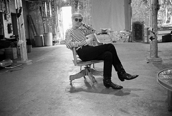 The-factory-with-Andy-Warhol