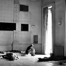 Mandatory Credit: Photo by BILL ZYGMANT / Rex Features ( 28814a ) SQUATTERS SLEEPING ON FLOOR OF ROOM AT 144 PICCADILLY HIPPIE SQUATTERS AT 144 PICCADILLY, LONDON, BRITAIN - 1969